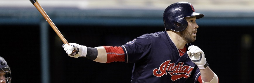 Cleveland Indians' Jason Kipnis hits an RBI double off Detroit Tigers relief pitcher Alex Wilson during the ninth inning of a baseball game, Tuesday, June 23, 2015, in Cleveland. Brandon Moss scored on the play. The Tigers won 7-3. (AP Photo/Tony Dejak)