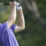 Jordan Spieth of the United States plays a shot on the 16th fairway during the second round of the SMBC Singapore Open golf tournament at Sentosa Golf Club's Serapong Course on Saturday, Jan. 30, 2016, in Singapore. (AP Photo/Wong Maye-E)