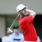 Graham DeLaet, of Canada, takes his tee shot on the second hole during the final round of the Valspar Championship golf tournament, Sunday, March 13, 2016, in Palm Harbor, Fla. (AP Photo/Brian Blanco)
